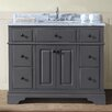 "Ari Kitchen & Bath Chela 42"" Single Bathroom Vanity Set"