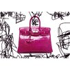 Fluorescent Palace Couture Croc Photographic Print on Canvas