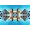 Fluorescent Palace Leinwandbild Divine Reflections One, Fotodruck