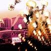 Fluorescent Palace Leinwandbild Spank Rock Grafikdruck