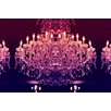 Fluorescent Palace Leinwandbild Flash Charisma, Grafikdruck