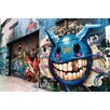 Fluorescent Palace Graffiti Alley Photographic Print on Canvas