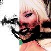 Fluorescent Palace Leinwandbild Primal Remix, Grafikdruck