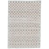 Lark Manor Cream & Silver Area Rug