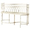 Lark Manor Lemoine Iron Patio Bench