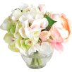 Lark Manor Roses and Hydrangea Bouquet
