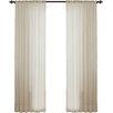Lark Manor Sidonie Textured Chiffon Single Curtain Panel