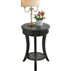 Lark Manor I'Inde Parisian Script End Table