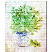 Lark Manor Basil Graphic Art on Wrapped Canvas