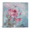 Lark Manor Winter Rose II Painting Print on Wrapped Canvas