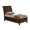 Lark Manor Corbeil Twin Sleigh Bed with Storage