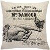 Lark Manor Murier Paris Butterfly Linen Throw Pillow