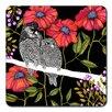Nadja Wedin Design Angry Owls 9cm Coaster (Set of 4)