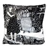 Nadja Wedin Design The Girl with Dotted Dress Cushion Cover