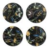 Nadja Wedin Design Bugs and Butterflies 9cm Coaster (Set of 4)