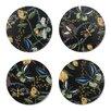 Nadja Wedin Design Wagtails Spring 9cm Coaster (Set of 4)