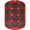 Wilton Non-Stick 12 Cavity Snowflakes Baking Sheet