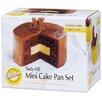 Wilton 5 Peice Non-Stick Mini Tasty Fill Pan Set