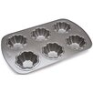 Wilton 6 Cavity Ice Cream Cookie Bowl Pan