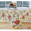 "Elrene Home Fashions Everyday Fruits 70"" Round Vinyl Tablecloth"