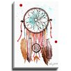 Bashian Home Autumn Dream Catcher by Kelsey McNatt Painting Print on Gallery Wrapped Canvas