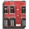 Bashian Home Red Venice byAnita Huber Photographic Print on Canvas