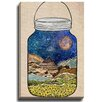 Bashian Home Star Jar by Jenndalyn Graphic Art on Wrapped Canvas