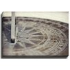 Bashian Home Sun Dial by Lisa Russo Photographic Print on Wrapped Canvas