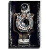 Bashian Home Vintage Camera by Lisa Russo Photographic Print on Gallery Wrapped Canvas