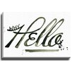 Bashian Home Why Hello by Kelsey McNatt Painting Print on Gallery Wrapped Canvas