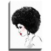 Bashian Home Vanessa by Lady Gatsby Painting Print on Gallery Wrapped Canvas