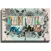 Bashian Home Run Wild My Child by Jenndalyn Graphic Art on Gallery Wrapped Canvas