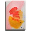 Bashian Home Nectarine by Jenny Andrews Anderson Painting Print on Canvas