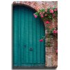 Bashian Home Blue Door France Brick by Georgianna Lane Photographic Print on Canvas