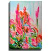Bashian Home Funky Fever bySusan Skelley Painting Print on Canvas