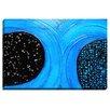 Bashian Home 'Blue Moon' by Kim Bosco Painting Print on Wrapped Canvas