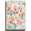 Bashian Home Floral pattern byLaura Dro Painting Print on Canvas