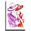 Bashian Home Partners in Crime by Lady Gatsby Graphic Art on Canvas