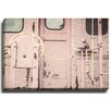 Bashian Home Pink caboose byLisa Russo Photographic Print on Canvas