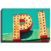 Bashian Home PI Sign by Bomobob Photographic Print on Canvas