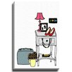 Bashian Home Coco Draws by Coco Draws Graphic Art on Wrapped Canvas