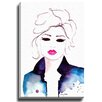 Bashian Home Baby Face by Kelsey McNatt Painting Print on Wrapped Canvas