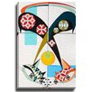 Bashian Home Cat X by Dominic Bourbeau Graphic Art on Wrapped Canvas
