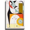 Bashian Home Cat H by Dominic Bourbeau Graphic Art on Wrapped Canvas