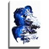 Bashian Home Blue Water by Kelsey McNatt Painting Print on Wrapped Canvas
