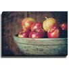 Bashian Home Apple bowl by Lisa Russo Photographic Print on Wrapped Canvas