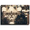 Bashian Home Chandelier Swing by Lisa Russo Photographic Print on Wrapped Canvas