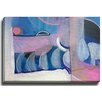 Bashian Home Moon Tasers by Jenny Andrews Anderson Painting Print on Wrapped Canvas