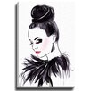 Bashian Home Heather by Lady Gatsby Painting Print on Wrapped Canvas