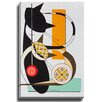 Bashian Home Cat B by Dominic Bourbeau Graphic Art on Wrapped Canvas